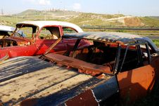 Free Old Abandoned Cars Stock Images - 16440644