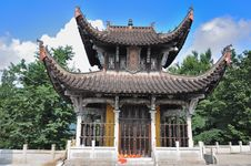 Free Buddhist Shrines - Jiuhuashan Royalty Free Stock Photography - 16440817