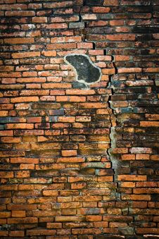 Free Vintage Brick Wall Stock Photo - 16440850