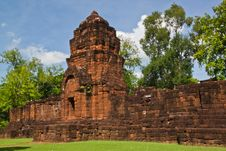 Mueang Sing Historical Park Stock Image
