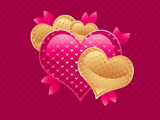 Free Love Card Stock Image - 16440971