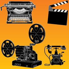 Free Film Industry Royalty Free Stock Photography - 16441577