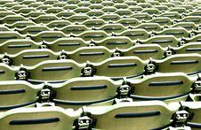 Free Stadium Seating Pattern Stock Photo - 16441690