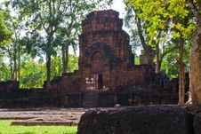 Mueang Sing Historical Park Stock Images