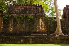 Free Mueang Sing Historical Park Royalty Free Stock Photography - 16442127