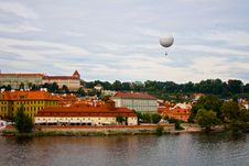 View From Charles Bridge. Stock Photos