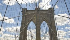 Free Brooklyn Bridge Architecture Royalty Free Stock Photo - 16442435