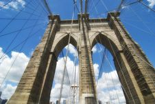 Free Brooklyn Bridge Architecture Royalty Free Stock Photography - 16442467