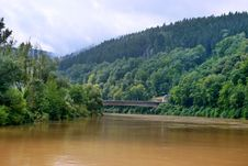 Free The River  In Bavaria Royalty Free Stock Images - 16443029