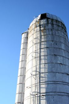 Free Silo Royalty Free Stock Photo - 16443075