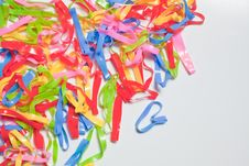 Free Colorful Rubber Bands Stock Image - 16443271