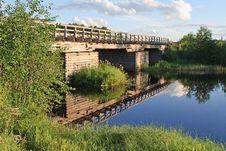 Free Old Wooden Bridge Stock Images - 16443344