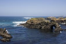 Mendocino Coast Royalty Free Stock Images