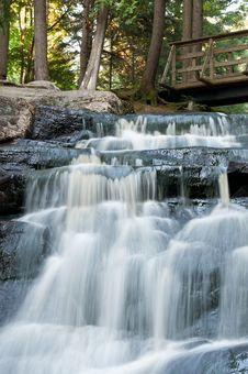 Free Small Ontario Waterfall Royalty Free Stock Photography - 16444317