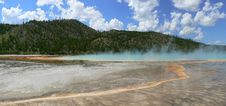 Grand Prismatic Spring Stock Image