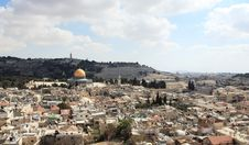 Free Old City Of Jerusalem Royalty Free Stock Photo - 16444725