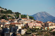 Free Amalfi Coast - Close-Up Of Vietri Sul Mare Royalty Free Stock Images - 16445509