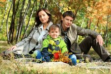 Free Family Outdoor Stock Photography - 16445512