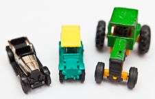 Free Toy Cars Royalty Free Stock Image - 16445596