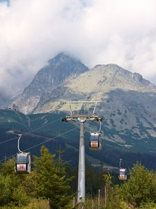 Free Cable Cars Royalty Free Stock Photos - 16445728