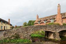 Free Bridge In Allerford Stock Photo - 16445850