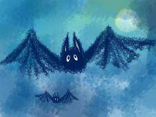 Free Amusing Bat Royalty Free Stock Photos - 16446108