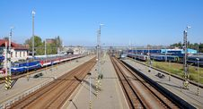 Free Railway Station Panorama Royalty Free Stock Images - 16446649
