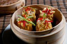 Free Dumpling Appetizer Royalty Free Stock Images - 16447009