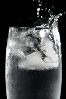Dynamic Drink Stock Photo