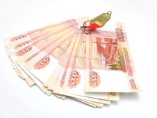 Free The Russian Five-thousandth Banknotes Royalty Free Stock Photography - 16448217