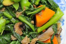 Free Stir Fried Vegetarian Cuisine Royalty Free Stock Photos - 16448398