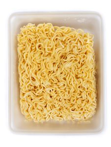 Free Dry Noodles Of The Quick Preparation Stock Image - 16448471