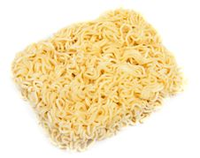 Free Dry Noodles Of The Quick Preparation Royalty Free Stock Image - 16448506