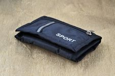 Free Black Fabric Pouch Royalty Free Stock Image - 16449496