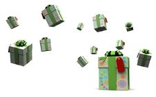 Free Colored Gift Boxes Royalty Free Stock Photos - 16449618