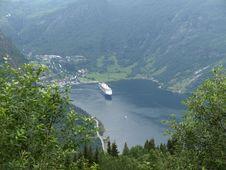 Free Geirange Fjord Stock Photo - 16449770