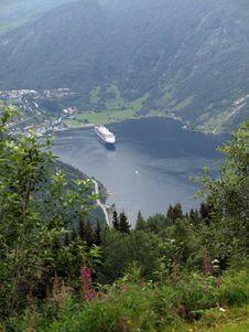 Free Geirange Fjord Stock Photos - 16449793
