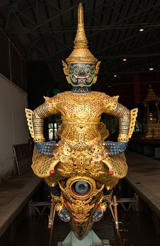Thai Royal Prow Royalty Free Stock Photography