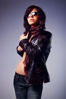 Free Studio Shot Of Beautiful Woman Stock Photo - 16449990