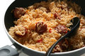 Free Fried Rice With Sausages Stock Image - 16450901