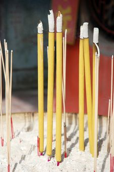 Free Joss Stick Stock Photography - 16450112