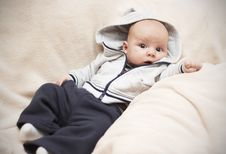 Free Kid In A Jacket Royalty Free Stock Image - 16450416