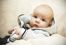 Free Kid In A Jacket Royalty Free Stock Images - 16450439
