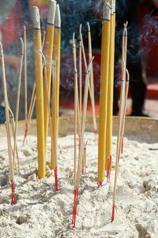 Free Joss Stick Stock Photography - 16450742