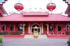 Modern Temple Royalty Free Stock Photo
