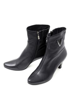 Free Women S Black Boots Royalty Free Stock Photos - 16451268