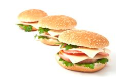 Free Cheeseburger, Hamburger Stock Photos - 16451383