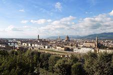 Free Florence Skyline Stock Image - 16452401