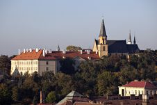 Free Colorful Prague Gothic Castle Royalty Free Stock Photos - 16452538