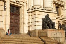 Sofia University Main Entrance Stock Images